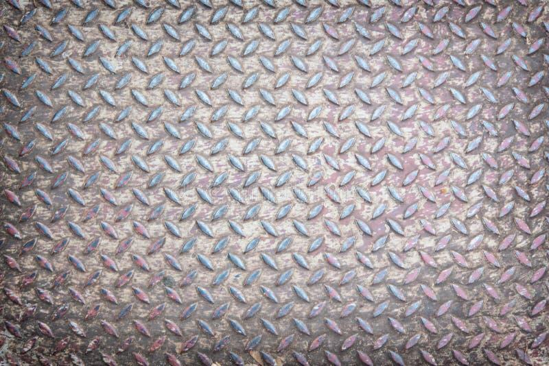 Stalowej podłoga Bezszwowy metal obraz stock