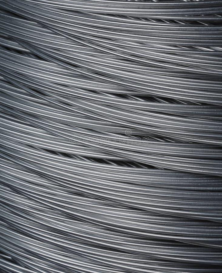 Stalowy drut obrazy stock