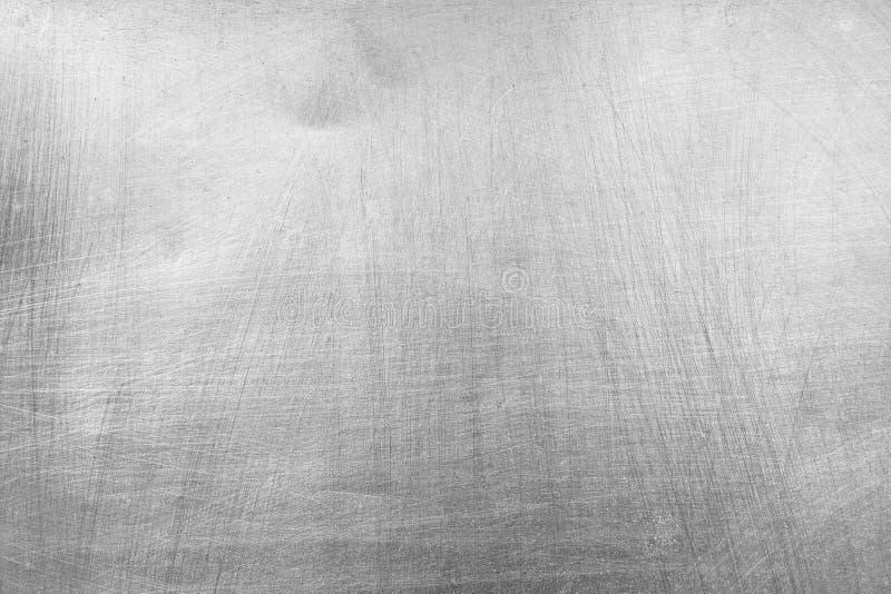 Stalowy metalu talerza tekstury tło zdjęcie royalty free