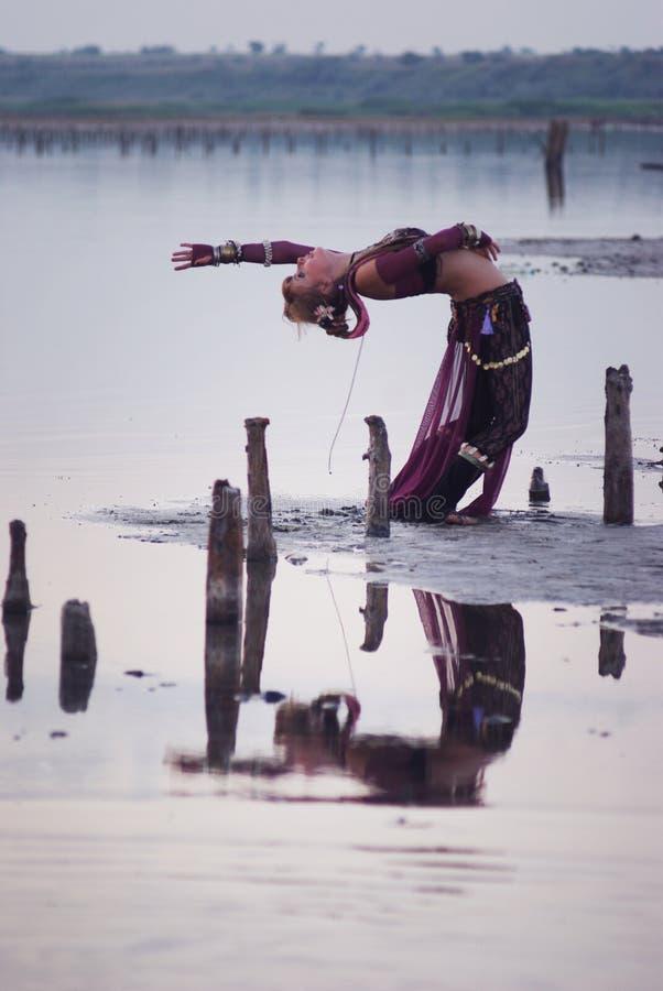 Stam- dansare royaltyfri foto