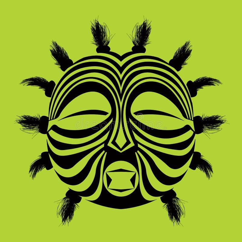 stam- maskering stock illustrationer
