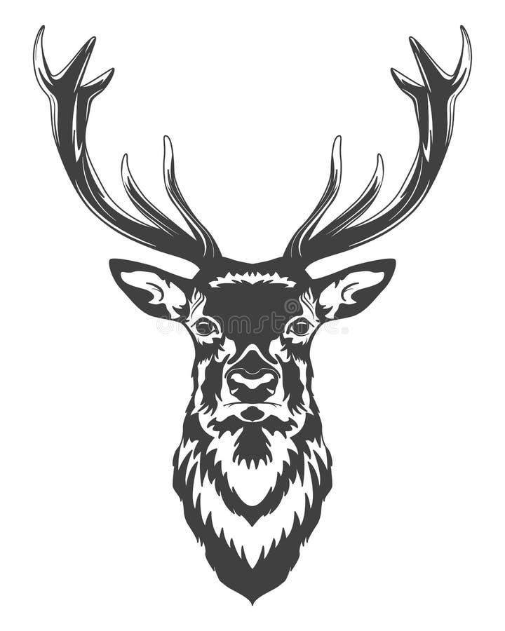 Stam- modell royaltyfri illustrationer
