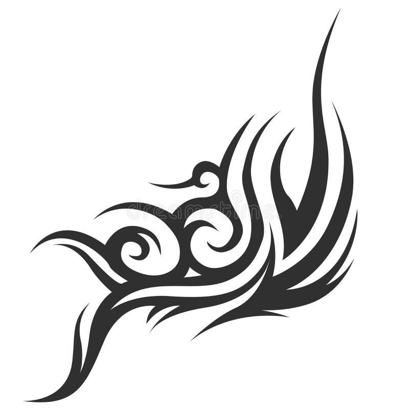stam- tatuering Tatuering för man` s Tatuering för kvinna` s royaltyfri illustrationer