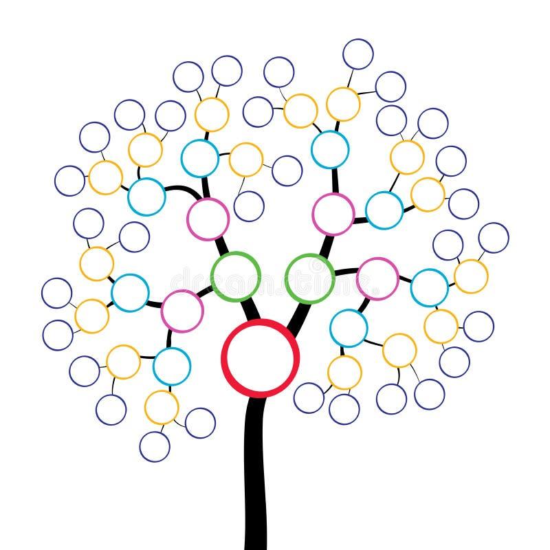 Stamboom vector illustratie