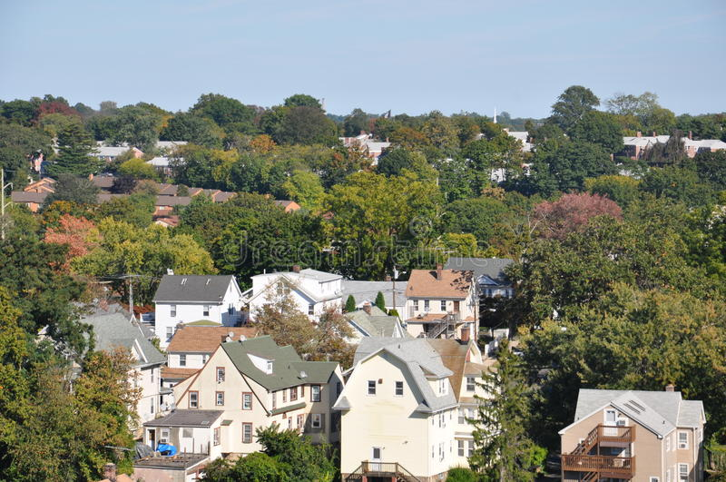 Stamford, le Connecticut image stock