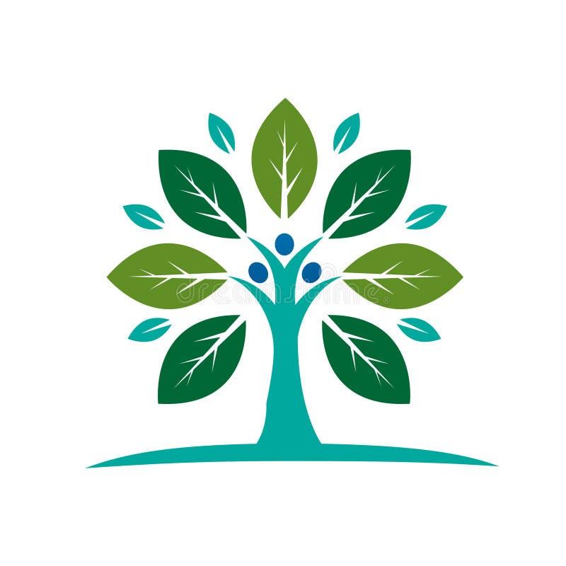 Stammbaum-Ikone vektor abbildung