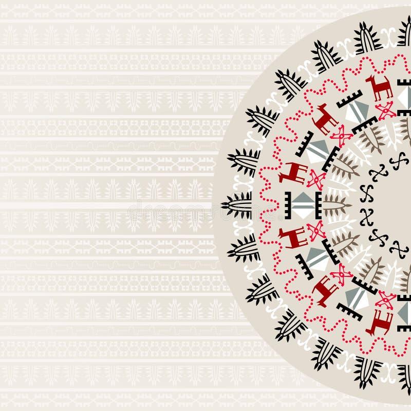 Stammen Abstracte Achtergrond vector illustratie