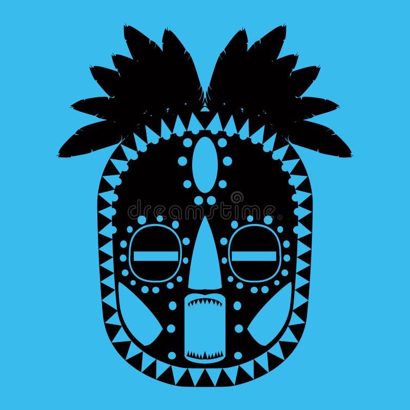 Stammen masker stock illustratie