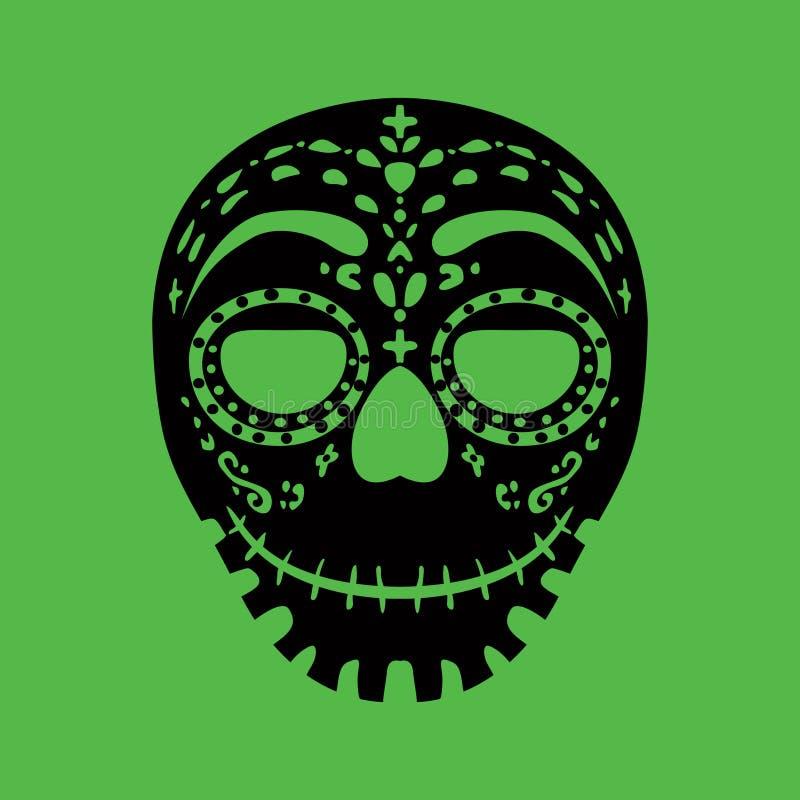 Stammen masker royalty-vrije illustratie