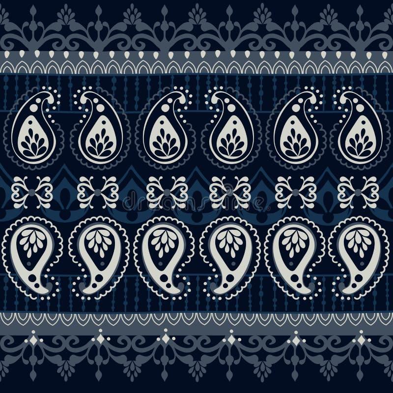 Stammen naadloos patroon royalty-vrije illustratie