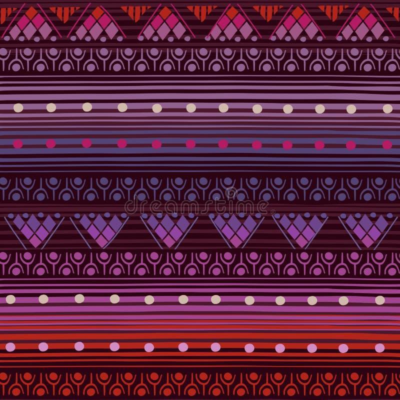 Stammen naadloos patroon vector illustratie