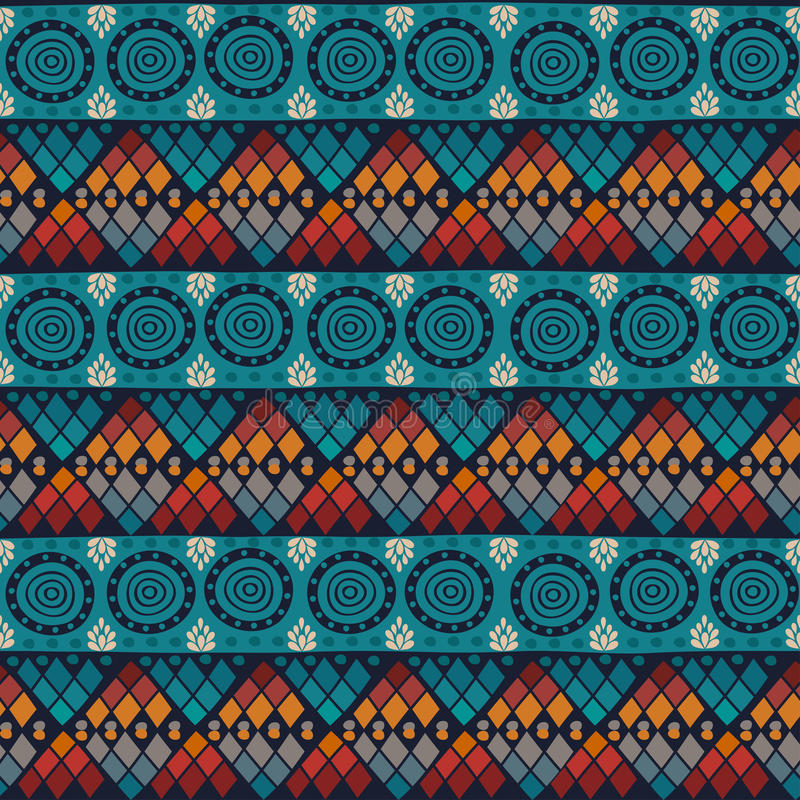 Stammen naadloos patroon stock illustratie