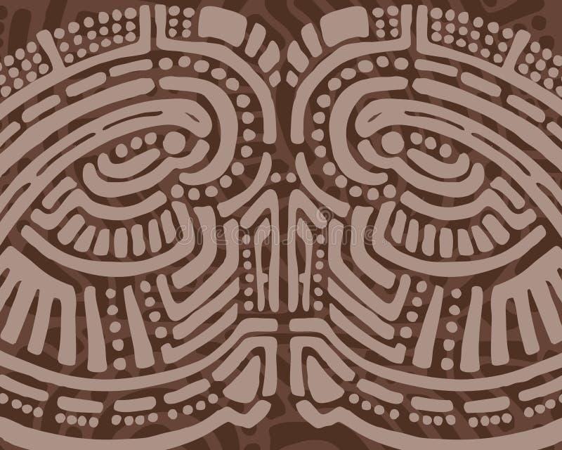 Stammen ontwerpachtergrond royalty-vrije illustratie