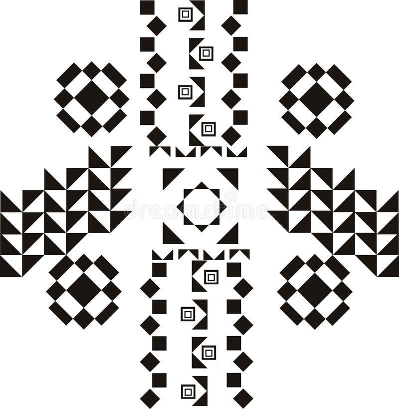 Stammen patroon royalty-vrije illustratie
