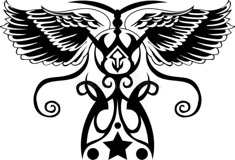 Stammen tatoegering vector illustratie