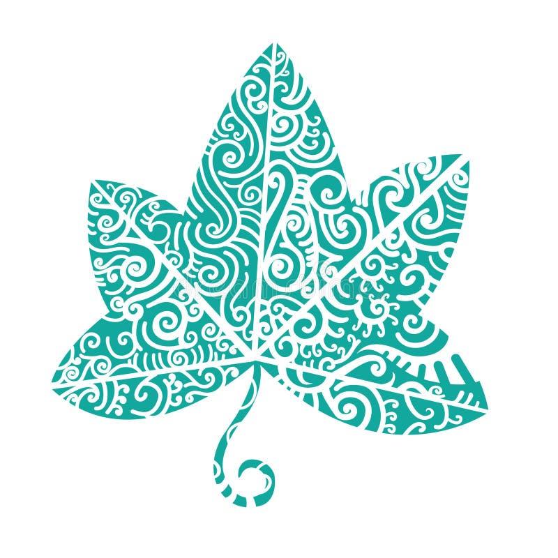 Stammen tatoegering Ivy Leaf