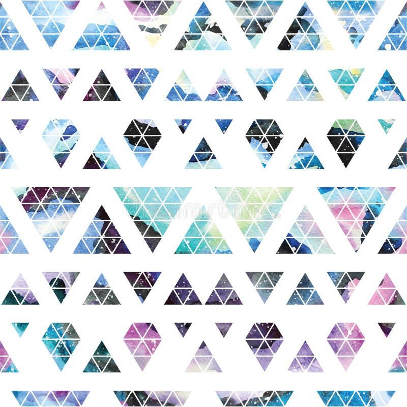 Stammenmelkweg naadloos patroon vector illustratie