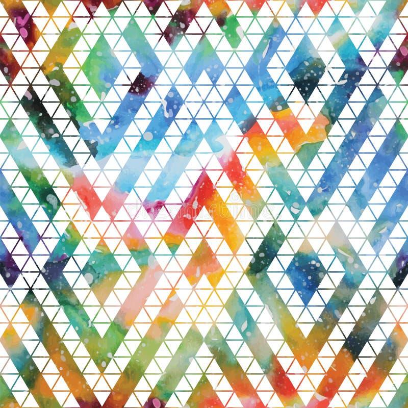 Stammenmelkweg naadloos patroon royalty-vrije illustratie