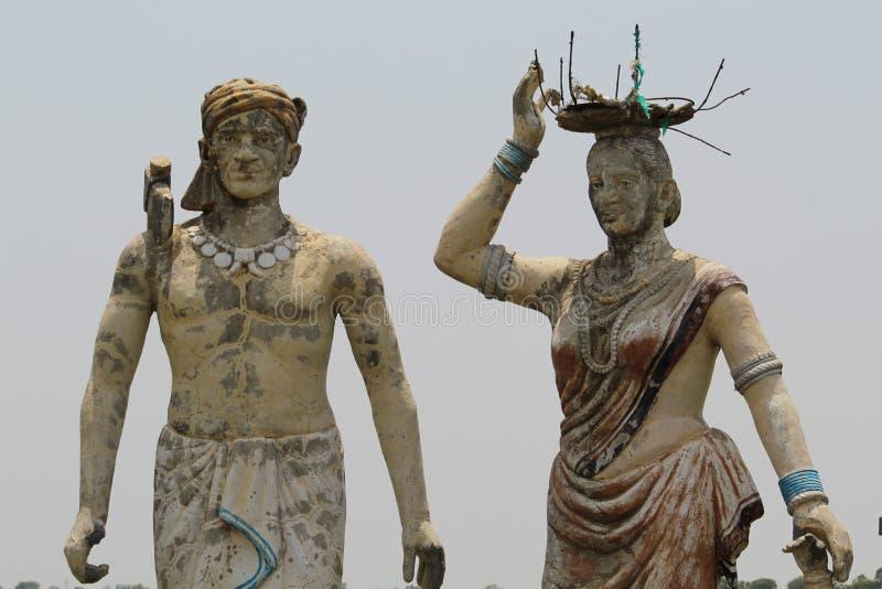 Stammes- Darstellung von Bastar-Bezirk - Indien lizenzfreies stockbild
