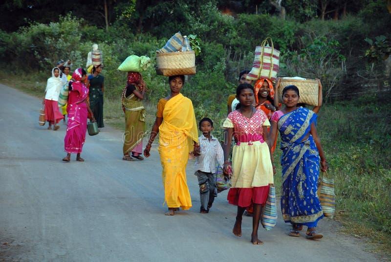 Stammes- Leute in Indien lizenzfreie stockfotografie
