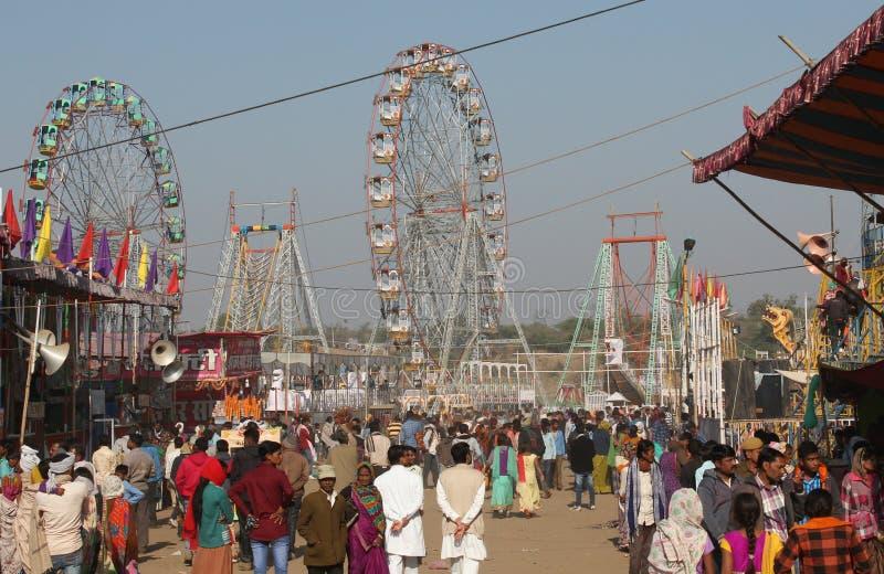 Stammes- Messe Baneshwar lizenzfreie stockbilder