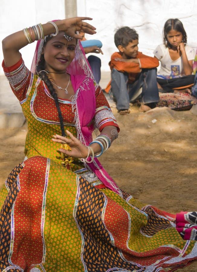 Stammes- Tänzer lizenzfreie stockbilder