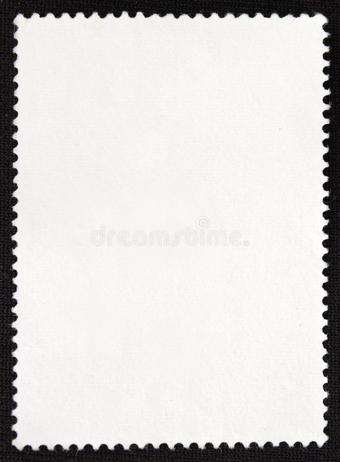 Download Stamp on the back stock image. Image of frame, paper - 21716983