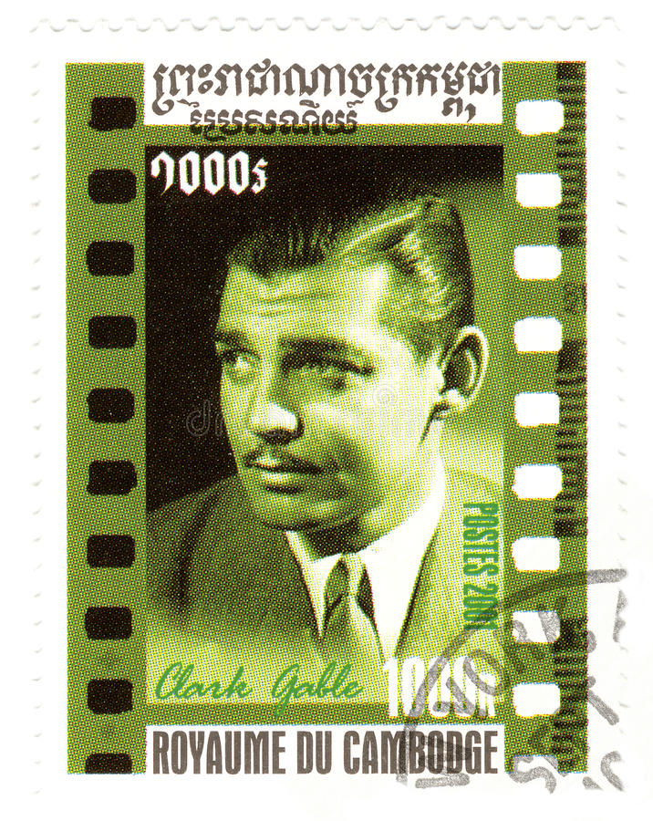 Download Stamp With Clark Gable Editorial Photography - Image: 10421117