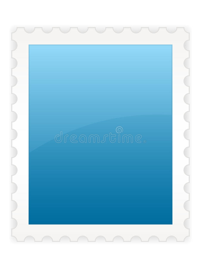 Stamp EPS. A large stamp template which can be used for icons or various other designs. Center piece left intentionally blank for ease of use and customization