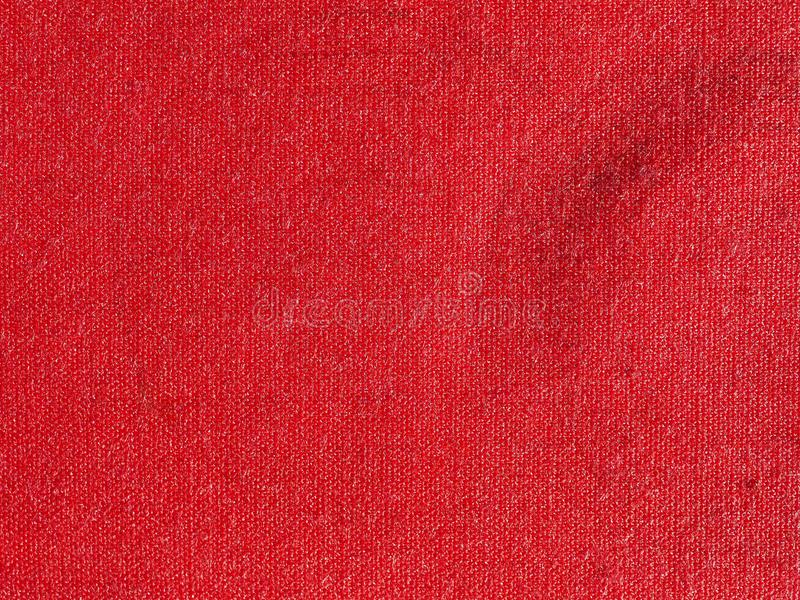 Stamp pad with red ink. A stamp pad filled with red ink royalty free stock image
