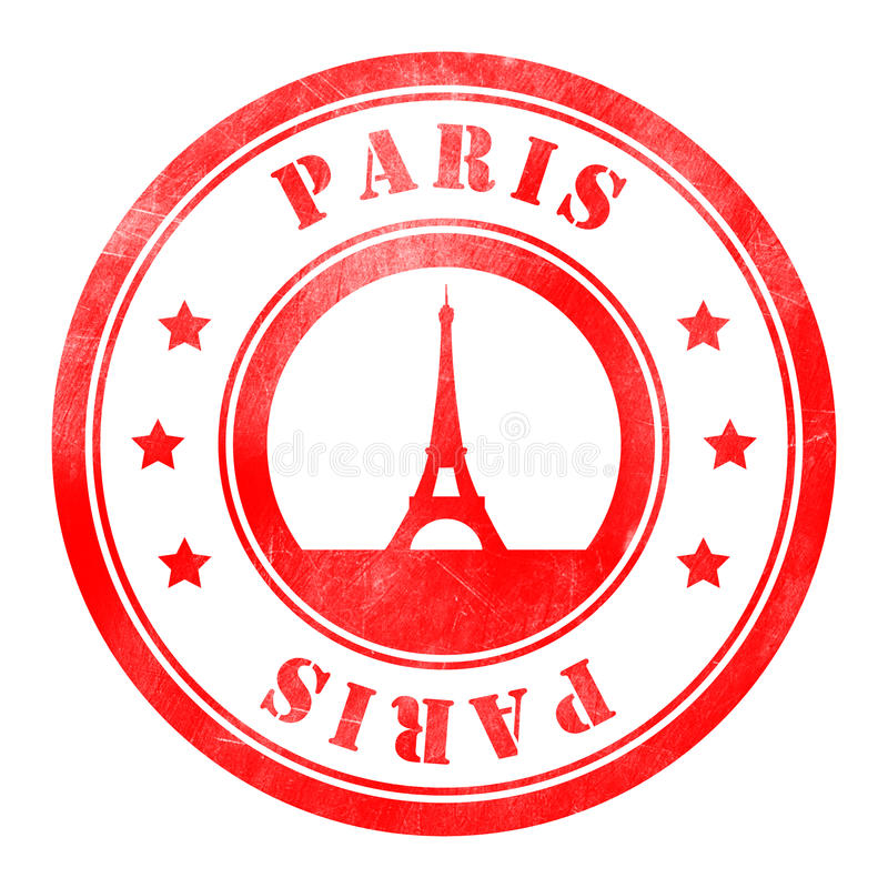 Download Stamp Of Paris Stock Illustration Stamps