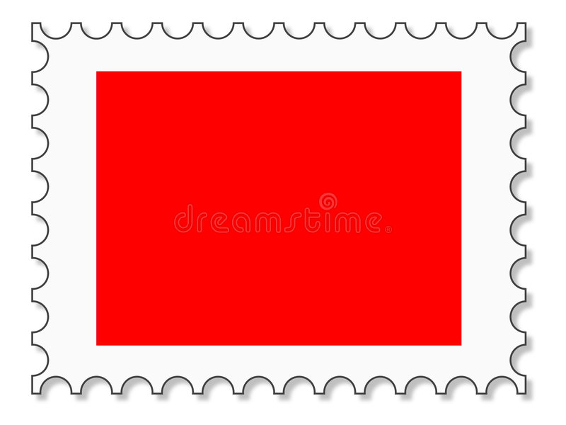Download Stamp for picture rate 4:3 stock illustration. Illustration of notched - 2909180