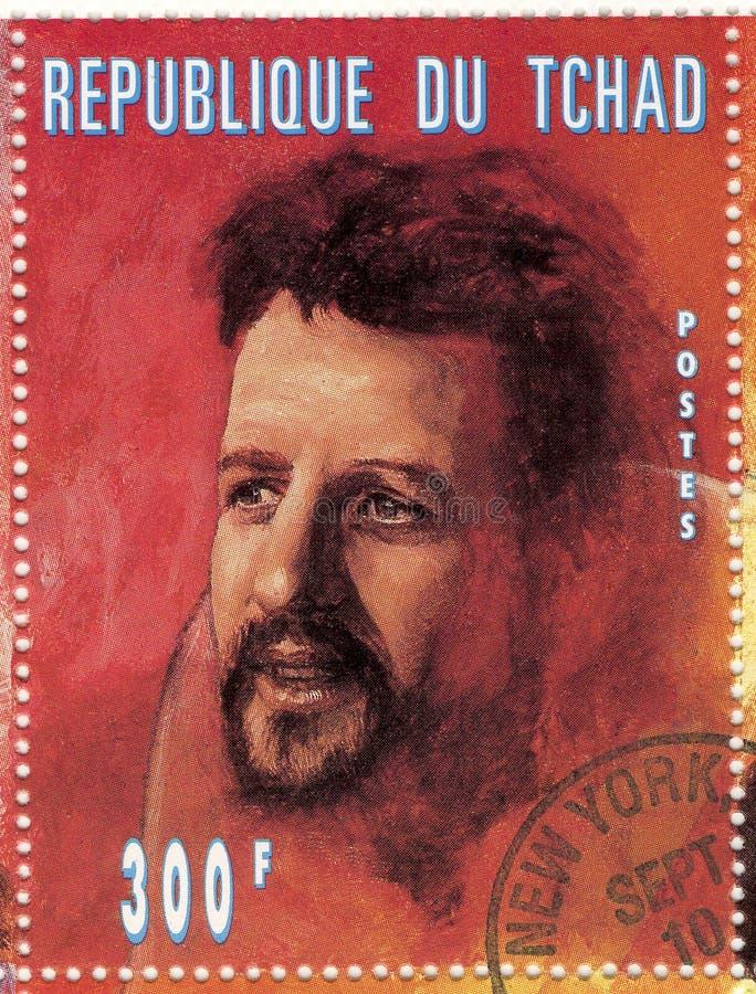 Stamp with Ringo Star stock photos