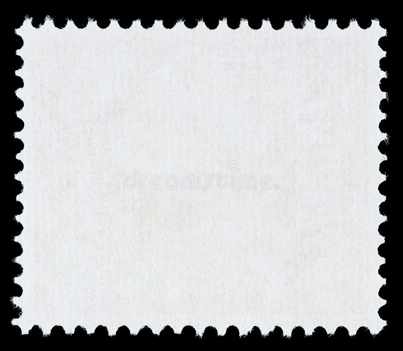 Stamp Template Stock Image Image Of Design Postal Blanked