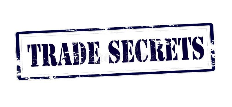 Trade secrets vector illustration