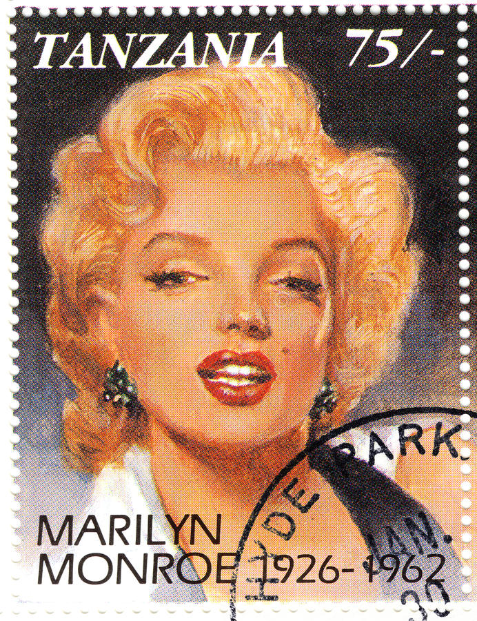 Free Stamp With Marilyn Monroe Stock Image - 10137271
