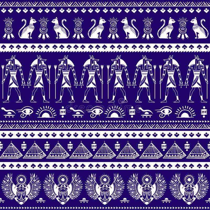 Stampa indiana della Boemia della mandala Stile d'annata del tatuaggio del henn? royalty illustrazione gratis