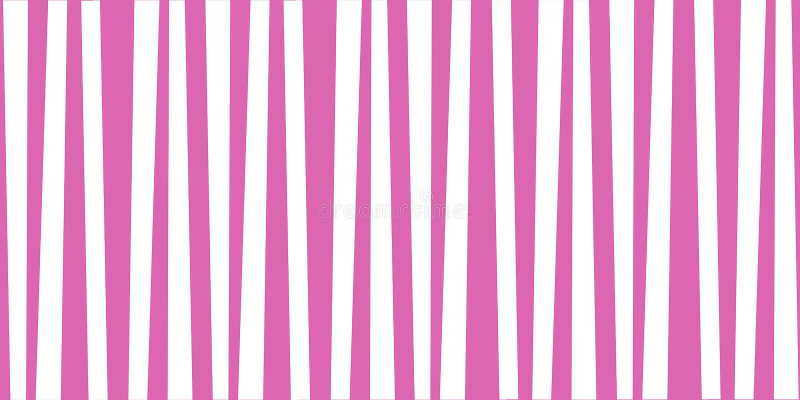 Stampa sveglia rosa e bianca verticale astratta del bambino illustrazione vettoriale