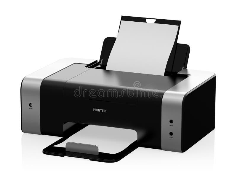 Stampante illustrazione di stock