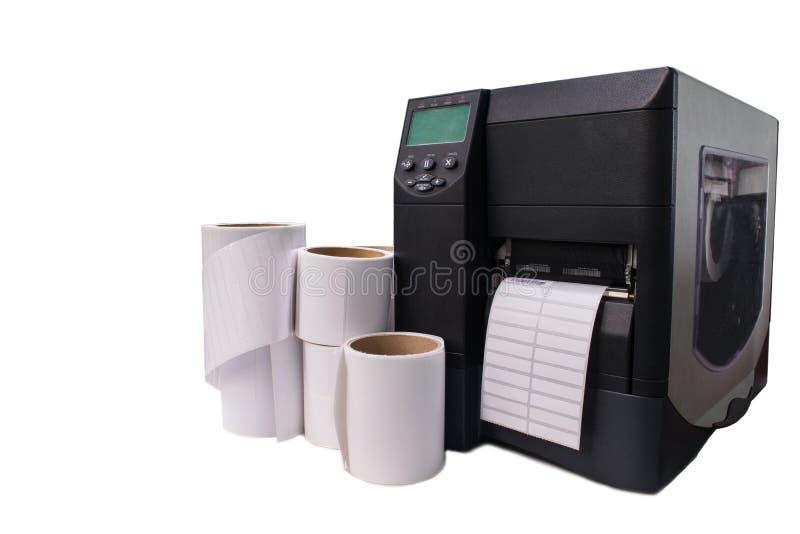 Stampante del codice a barre immagine stock