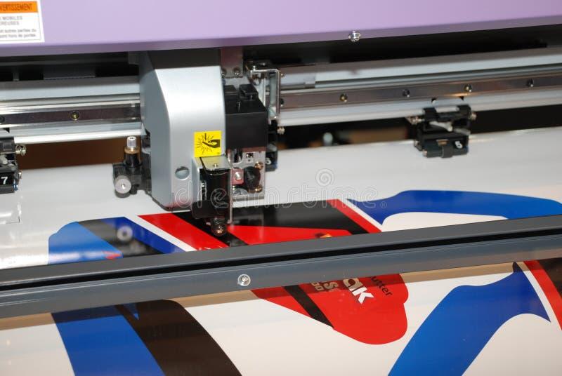Stampante di getto di inchiostro capa professionista fotografia stock libera da diritti