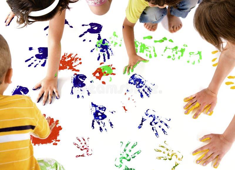 Stampe della mano dei bambini