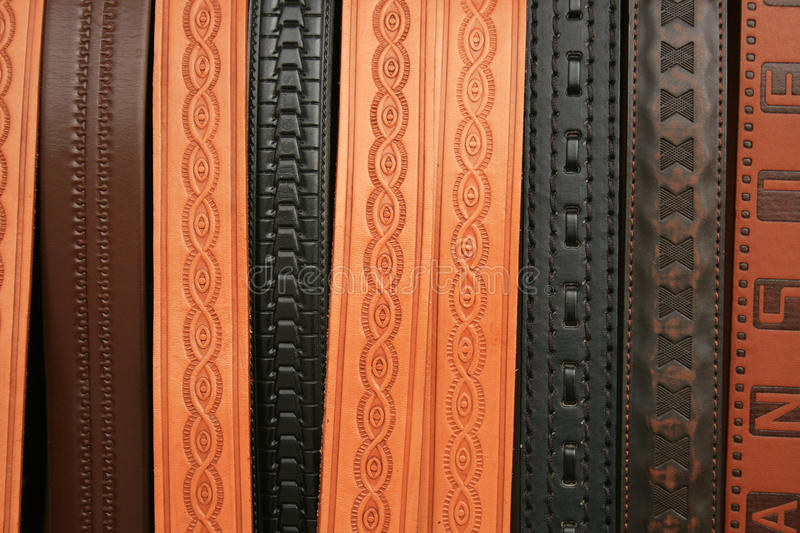 Stamped Belts Stock Image Image Of Stamp Abstract