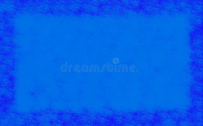 Stamped blue color on dark blue background by program computer, Abstract art rough texture artwork. Contemporary arts, monotone. Artistic paper canvas, space stock illustration