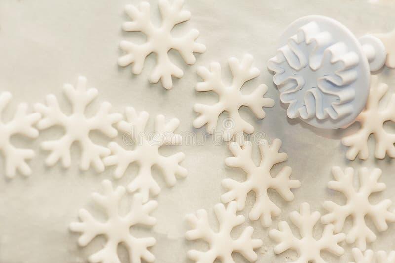 Stampino per la pasta dello zucchero fotografia stock libera da diritti