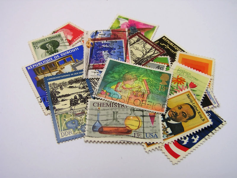 Download Stamps stock photo. Image of postage, djibouti, philatelic - 157804