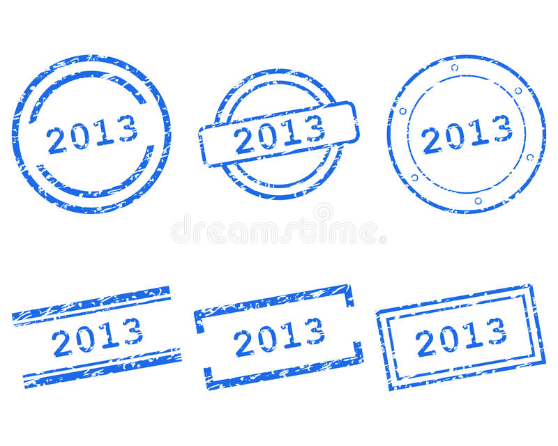 Download Stamps 2013 stock vector. Image of grunge, promotion - 28096135