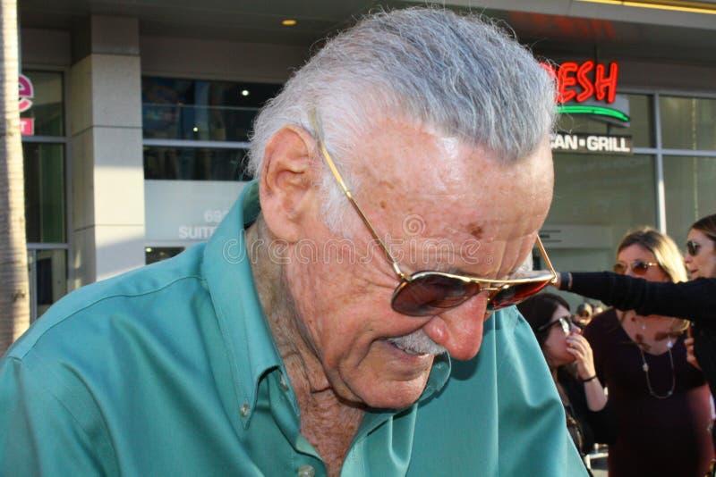 Stan Lee foto de stock