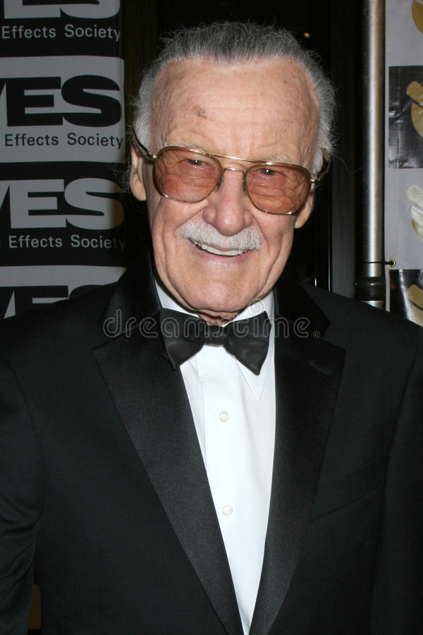 Stan Lee stock foto