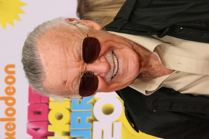 Stan Lee royalty-vrije stock fotografie
